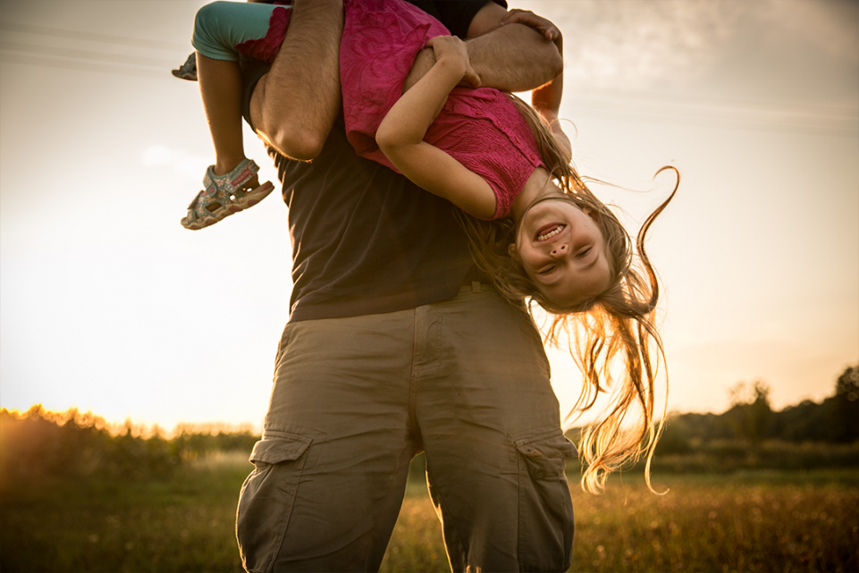 What are you running from as a dad?